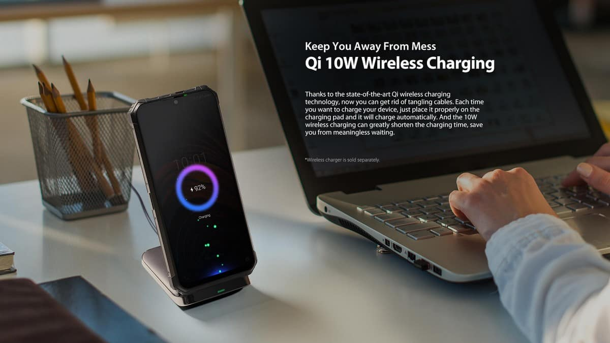 Wireless Charger Qi 10W - Ulefone Armor 7E